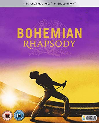 Bohemian Rhapsody na DVD i Bluray
